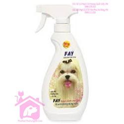 Vệ sinh không dùng nước Fay Groom For Dog 350ml dành cho chó