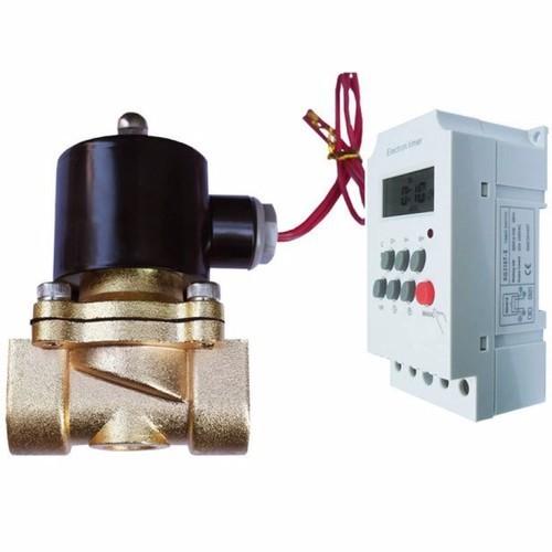 Bộ tưới cây tự động combo gồm Van điện từ phi 21+ hẹn giờ KG316T - 6974558 , 13716192 , 15_13716192 , 350000 , Bo-tuoi-cay-tu-dong-combo-gom-Van-dien-tu-phi-21-hen-gio-KG316T-15_13716192 , sendo.vn , Bộ tưới cây tự động combo gồm Van điện từ phi 21+ hẹn giờ KG316T