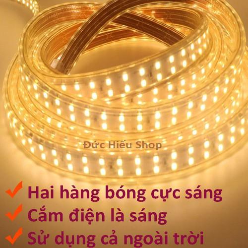 Đèn LED dây đôi 2835-5M - 5126135 , 11357605 , 15_11357605 , 95000 , Den-LED-day-doi-2835-5M-15_11357605 , sendo.vn , Đèn LED dây đôi 2835-5M