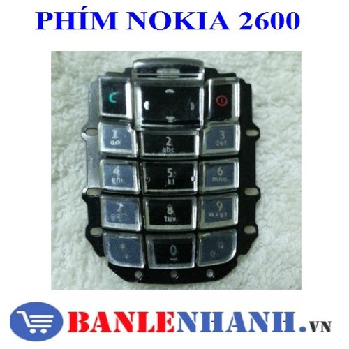 PHÍM NOKIA 2600