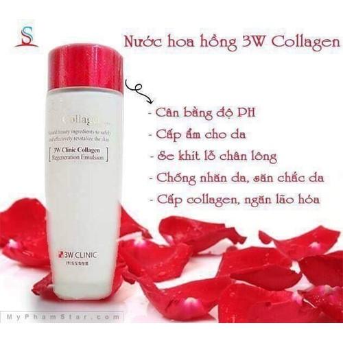 nước hoa hồng 3w