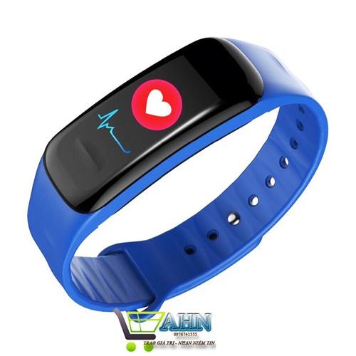 Vòng đeo tay thông minh Wearfit C1 , Đo sức khỏe, báo tin điện thoại