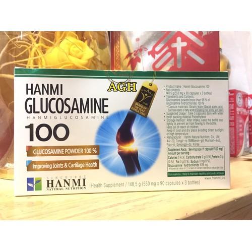 Viên Bổ khớp Hanmi Glucosamine 100 Hàn Quốc