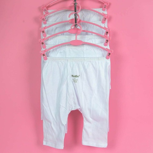 Bộ 5 quần dài Hột gà đáp đáy cho trẻ sơ sinh từ 0-9 tháng