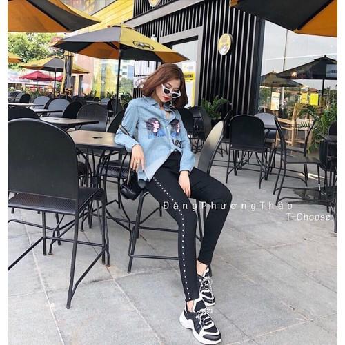 Quần legging jean thời trang