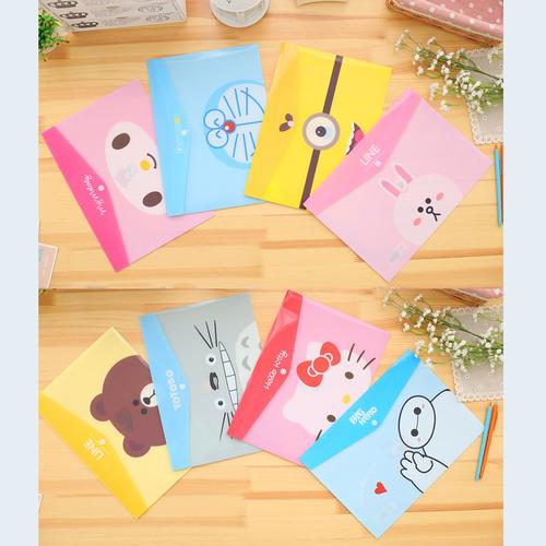 Combo 2 Bìa túi nhựa đựng giấy tờ tài liệu A4 hoạt hình dễ thương - 10839366 , 11384830 , 15_11384830 , 24000 , Combo-2-Bia-tui-nhua-dung-giay-to-tai-lieu-A4-hoat-hinh-de-thuong-15_11384830 , sendo.vn , Combo 2 Bìa túi nhựa đựng giấy tờ tài liệu A4 hoạt hình dễ thương