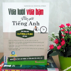 Sách Vừa lười vừa bận vẫn giỏi tiếng Anh Kèm CD hoặc tải App