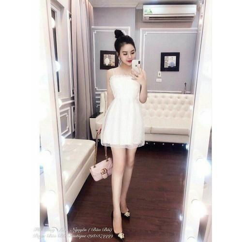 Đầm 2 dây xinh