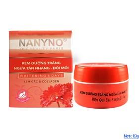 Kem dưỡng trắng, Ngừa tàn nhang, Đồi mồi Kem gấc và Collagen NANYNO - NN-DTTN-79