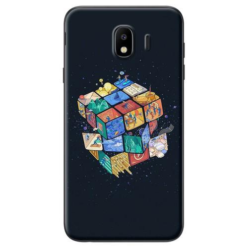 Ốp lưng nhựa dẻo Samsung J4 Rubic