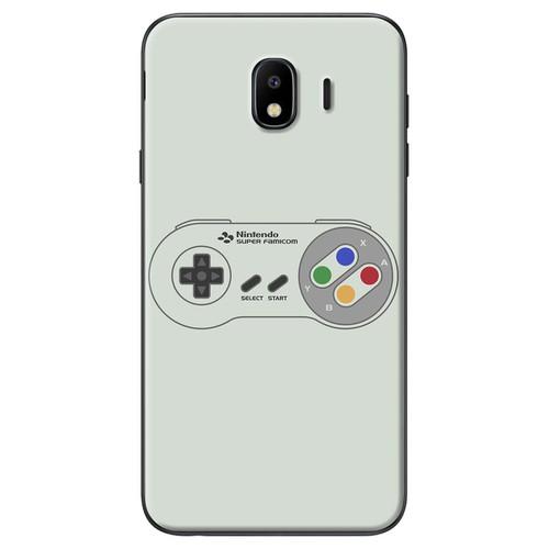 Ốp lưng nhựa dẻo Samsung J4 Điều khiển game xám