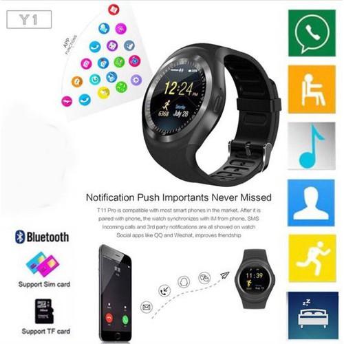 Đồng hồ thông minh mặt tròn Y1