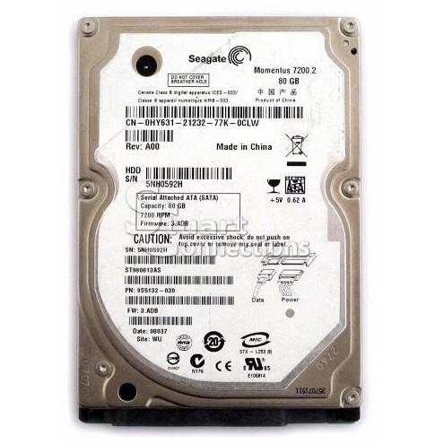 Ổ Cứng Laptop Cũ HDD Seagate 80G Cũ 7200rpm BH 6 Tháng 1