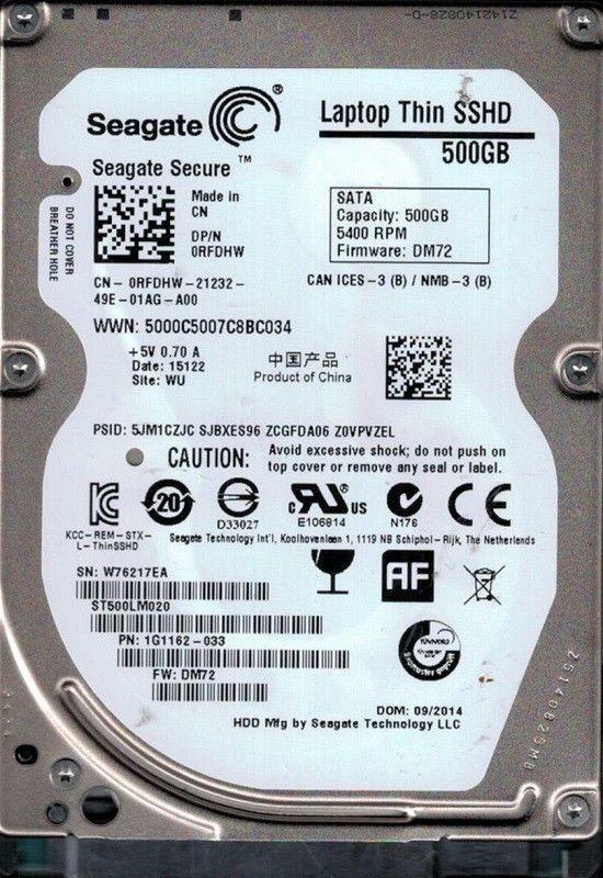 Ổ Cứng Laptop Cũ HDD Seagate 80G Cũ 7200rpm BH 6 Tháng 4