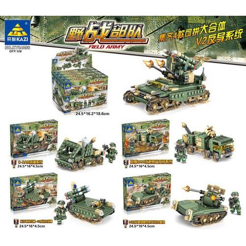 Đồ chơi  lắp ráp Combo 4 trong 1 xe tăng tên lửa  84056 - 10840073 , 11387912 , 15_11387912 , 250000 , Do-choi-lap-rap-Combo-4-trong-1-xe-tang-ten-lua-84056-15_11387912 , sendo.vn , Đồ chơi  lắp ráp Combo 4 trong 1 xe tăng tên lửa  84056