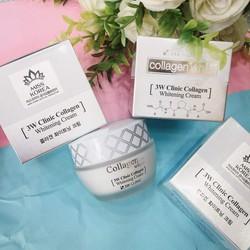 Kem dưỡng trắng da Collagen 3w Clinic -