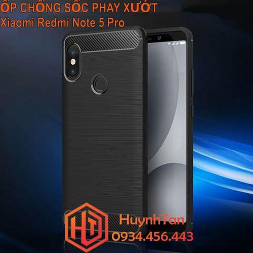 ỐP lưng chống sốc Xiaomi Redmi Note 5 Pro cao su phay xướt
