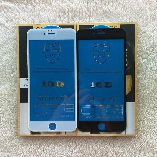 Kính cường lực full màn hình 10D cho IPhone 6 6s