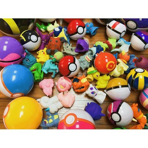 Trứng POKEMON.đồ chơi trứng pokemon