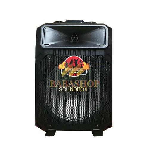 Loa karaoke di động cao cấp Soundbox S-1012B âm thanh cực hay