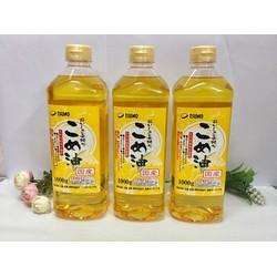 Dầu gạo cao cấp Tsuno Nhật Bản 1000gr