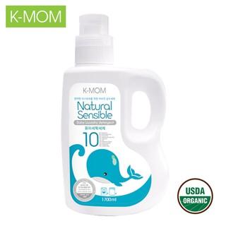 Nước giặt đồ sơ sinh K-Mom Hàn Quốc từ Thảo mộc hữu cơ can 1700ml - KM13160 thumbnail