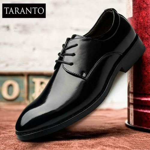 Giày tây nam TARANTO TRT-GTN-02-DE - Màu đen