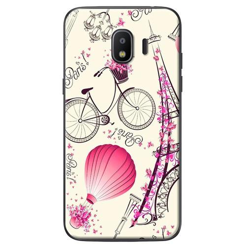 Ốp lưng nhựa dẻo Samsung J4 Paris lãng mạn