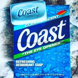 Combo 5 bánh xà phòng tắm Mỹ Coast - 605 thumbnail