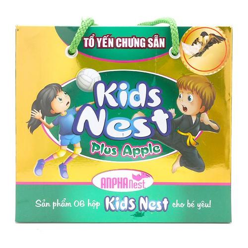 Tổ yến chưng sẵn kids nest plus apple yến sào sài gòn anpha 6 lọ hộp - 16958649 , 11386453 , 15_11386453 , 300000 , To-yen-chung-san-kids-nest-plus-apple-yen-sao-sai-gon-anpha-6-lo-hop-15_11386453 , sendo.vn , Tổ yến chưng sẵn kids nest plus apple yến sào sài gòn anpha 6 lọ hộp