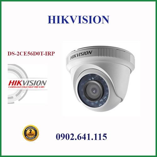 CAMERA HDCVI  2.0MP HIKVISION DS-2CE56D0T-IRP