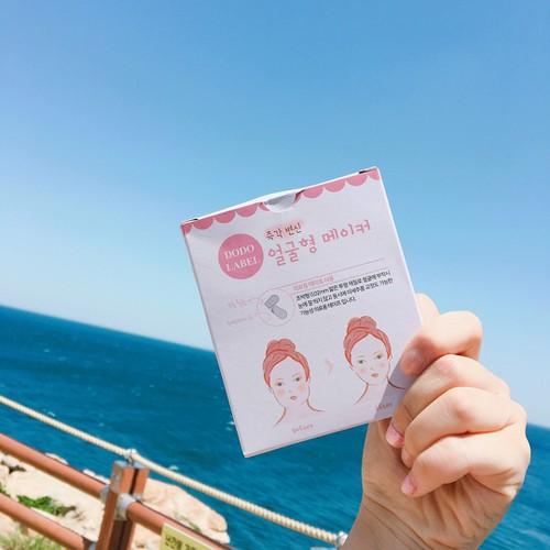 Miếng dán tạo mặt Vline Dodo Label Hàn Quốc