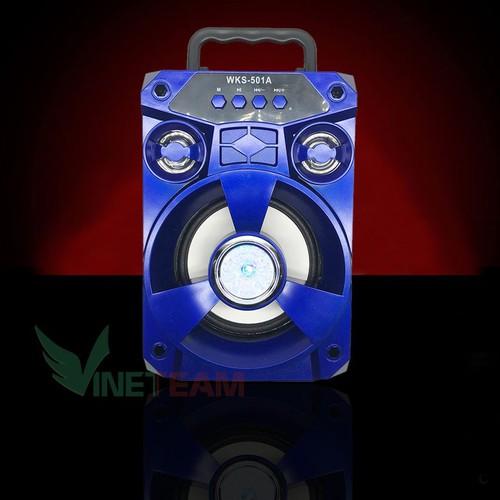 {FREESHIP}Loa Bluetooth mini xách tay WKS-501A Công suất 5W