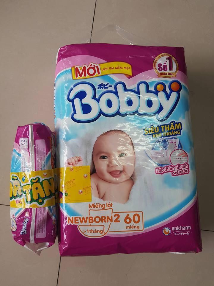 Tã quần Bobby M40 L36 XL32 XXL28 + 4 miếng