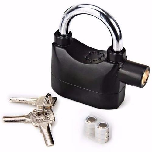 ổ khóa chống trộm có còi báo động