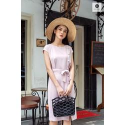 De Leah - Đầm Ôm Nẹp Trước - Thời trang thiết kế