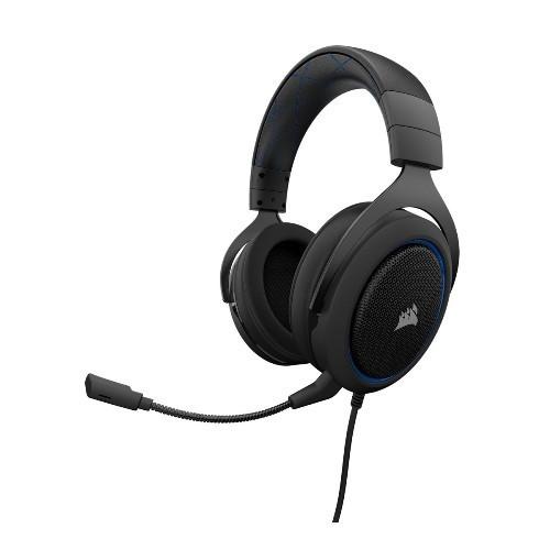 Tai Nghe Corsair HS50 Stereo Blue