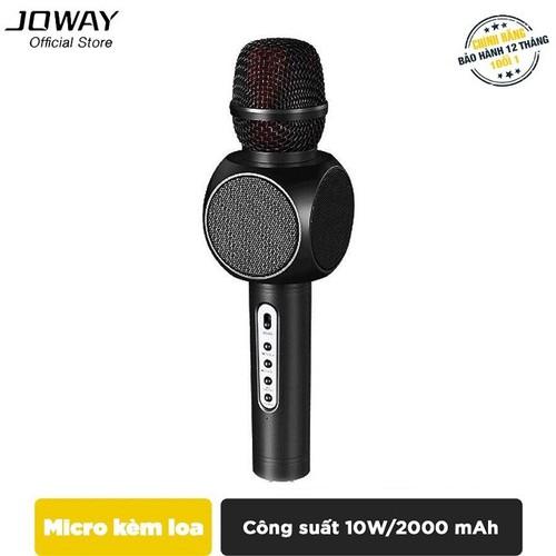 MIC karaoke tích hợp Loa Bluetooth JOWAY KGB01