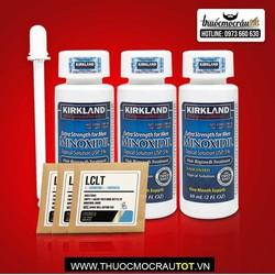 Thuốc mọc râu tóc Minoxidil combo 3 chai lỏng và 3 LCLT