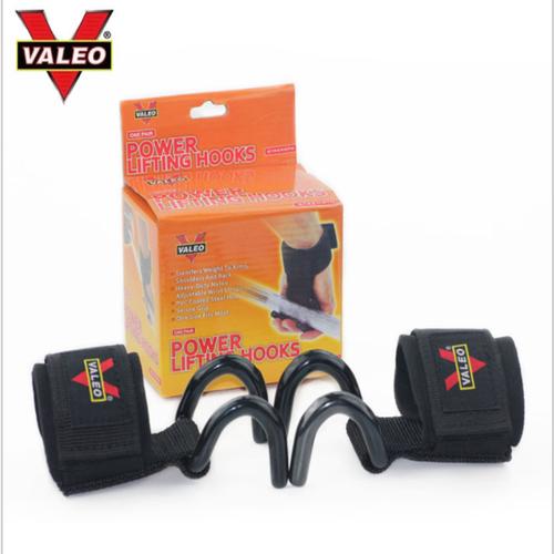 Quấn cổ tay có móc thép VALEO hỗ trợ nâng tạ kéo xà tập xô