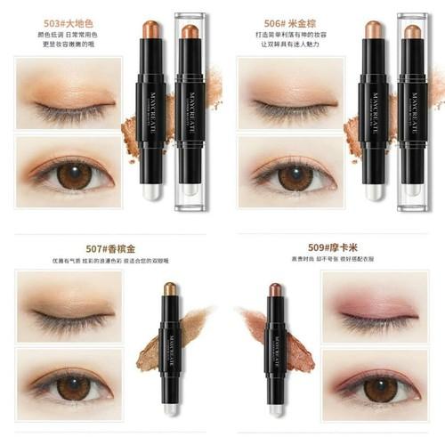 Bút kẻ mắt 2 đầu có nhũ kim tuyến Maycreate chính hãng - 5131383 , 11418044 , 15_11418044 , 45000 , But-ke-mat-2-dau-co-nhu-kim-tuyen-Maycreate-chinh-hang-15_11418044 , sendo.vn , Bút kẻ mắt 2 đầu có nhũ kim tuyến Maycreate chính hãng