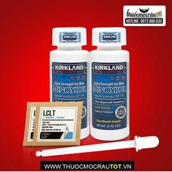 Thuốc mọc râu tóc minoxidil tặng kèm bột 2 LCLT