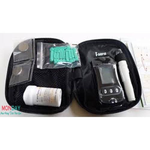 Máy đo đường huyết caresens N - Made in Korea - tặng thêm 25 QUE thử 25 KIM