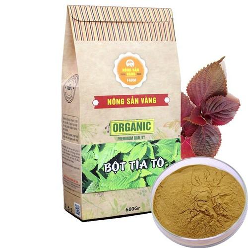 Bột tía tô nguyên chất Nông Sản Vàng 500gr
