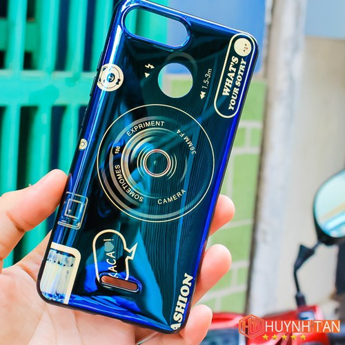 Ốp lưng Xiaomi Redmi 6 dẻo bóng 4D tặng popsocke