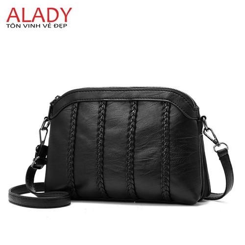 Túi xách nữ da mềm ALADY - TX117 túi thiết kế nhiều ngăn tiện dụng