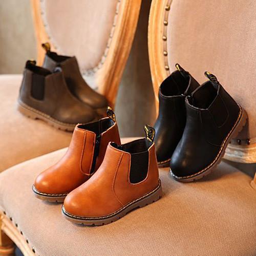 Boot cao cổ cho bé gái sành điệu-08BC082