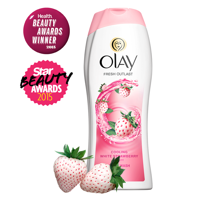 Sữa Tắm Olay Fresh Outlast Cooling White Strawberry Mint 650ml 1