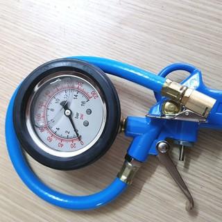 Súng Bơm Lốp đo áp suất ô tô xe máy đồng hồ Ngâm Dầu TH [ĐƯỢC KIỂM HÀNG] - 11409693 thumbnail
