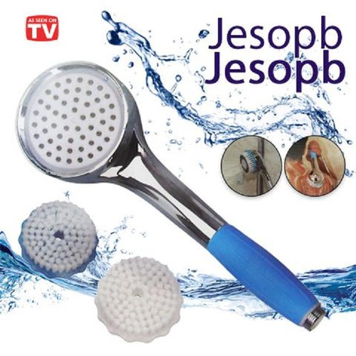 Vòi tắm đa năng jesopb |vừa phun nước vừa có bàn chải chà người